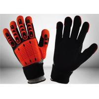 Quality Industrial Mechanic Work Gloves Impact Resistant Mechanic Safety Gloves 13 Gauge for sale