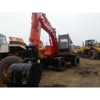 Buy cheap EX100WD-3 Used wheel excavator hitachi used excavator ex100wd-1 from wholesalers