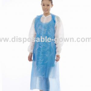 Quality Anti Dust 0.08mm Polyethene Disposable Aprons ISO13485 for sale