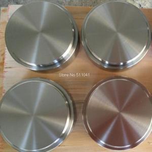Quality titanium target,ti-al alloy target for Vacuum PVD,80mm D x 40mm L,Plating rose-goden, rose for sale