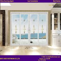 Quality 2015 Beautiful High Quality Sound insulation aluminum wardrobe with sliding mirror doors for sale