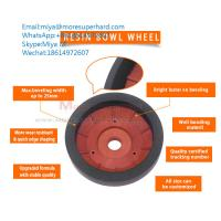 Quality resin wheels for glass straight edging machine and beveling miya@moresuperhard.com for sale
