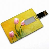 Quality Retractable Cheap Handy 128M 256M 512M 1G 4G 16G Credit Card USB Drive disks AT-045C for sale