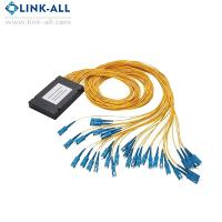 Buy cheap ODM/OEM Link-all Optical Fiber PLC Splitters 2x32 ABS Box Type with SC/APC from wholesalers