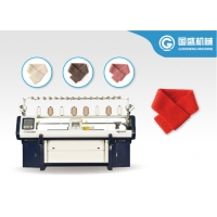 Quality Single Phase Flat 12G Scarf Knitting Machine for sale