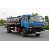 Quality 10000l 4x2 Dongfeng Flammable Liquid Tank Truck Transport Aether for sale