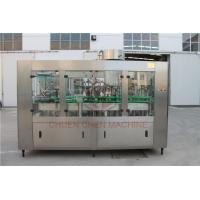 Quality 1000ML Glass Bottle Filling Machine With Electric Square Glass Jars Capping for sale