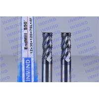 Quality AlTiN Coating Carbide Roughing End Mills 4 Flute 25 mm Cuttting Length for sale