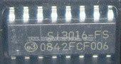 Buy Integrated Circuit Chip SI3016FS---- 3.3 V ENHANCED GLOBAL DIRECT ACCESS ARRANGEMENT  at wholesale prices