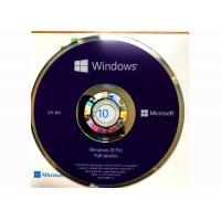 Quality CD DVD Simple Package Windows 10 Professionnel Version Complete 100% Useful for sale