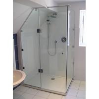 Quality ANSIZ97.1 Straight Corner Shower Enclosure Glass Tempered Safety for sale