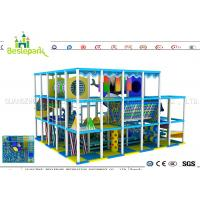 Quality Indoor Soft Baby Play Centre , Custom Made Indoor Jungle Gym For Toddlers for sale