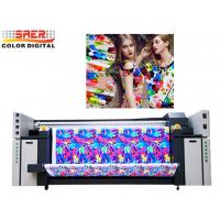 Quality Automatic Roll To Roll Flag Printing Machine 3.2m Digital Piezo Flag Printer Fabric Poltter for sale
