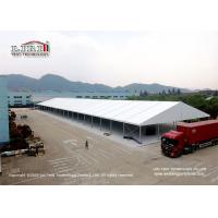 Quality Wind Resistant Clear Span 25x100m Temporary Warehouse Tent for sale