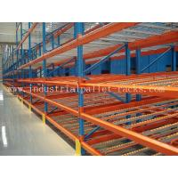 Quality Steel Mesh Shelving Carton Flow Rack Systems for sale