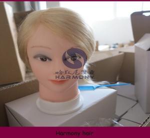 Quality HAMRONY training head/human hair training mannequin head for sale