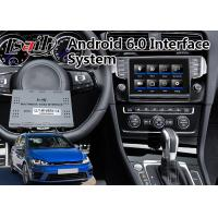 China Car DVD Player Android Interface Navigation for 2014-2017 Volkswagen Golf R Variant Worldwide on sale