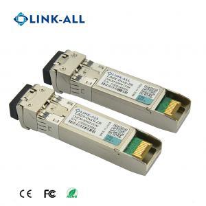 Quality DWDM 100GHz C Band SFP+ Transceiver 10G DWDM 80KM Transceiver DDM for sale