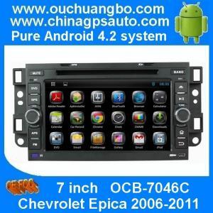 China Car radio Chevrolet Epica /Captiva /Spark /Optra with gps system usb sd mp3 player OCB-7046C on sale