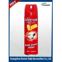 Quality Restroom Tinplate 600ml Aerosol Insect Killer Spray with Raw Material for sale