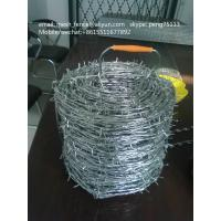 China China manufacturer single/double strands barbed wire low price on sale