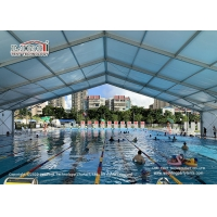 Quality Blackout PVC Roof Cover 10m Swimming Pool Sport Event Tents for sale