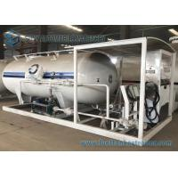 Quality Mobile LPG Transport Tank Bower Skid Station For Refilling LPG To LPG Cylinder for sale