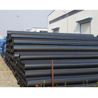 Quality PE100 black plastic HDPE pipe PN16 PN10 all inch hdpe pipes for water supply for sale