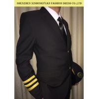 Quality Police Officer Costume Military Security Officer Winter / Autumn Uniform Blazer Airline Workman Jacket for sale