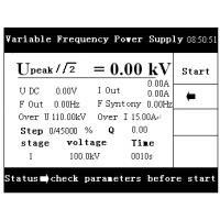 Portable Variable Frequency Resonant Withstand Voltage Test Set
