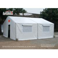 Quality Waterproof 10x9m Disaster Relief Tent For Medic System Temporary Place for sale