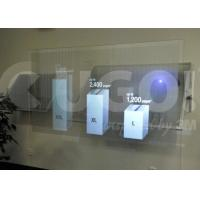 China Display Box Holographic Film Roll, 1.5m Max Width Sticky Screen Rear Projection Film on sale