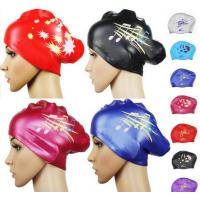 China silicone siwm cap for long hair on sale
