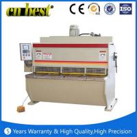 Quality hydraulic plate shearing machine price for sale