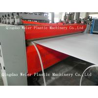 Quality 1220mm Plastic Hollow PE / Pp Sheet Extrusion Line 1000mm-5000mm/Min for sale