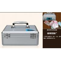 Quality SGS Elegant Waterproof Security Portable Cash Box With Two Layers for sale