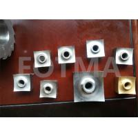 China Cemented Tungsten Carbide Cutting Cutter For Recycling Plastic / Rubber Material on sale