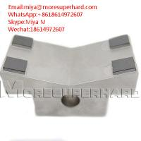 Quality PCD wear resistant parts used for workpiece support and reference miya@moresuperhard.com for sale