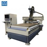 Quality High speed Linear ATC CNC Router with gear rack transmission for kitchen doors for sale