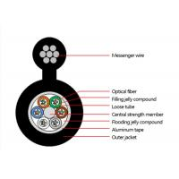 Buy cheap Outdoor Figure 8 Armoured self-supporting Optical Fiber Cable Multitube optical fiber cable--GYTC8A from wholesalers