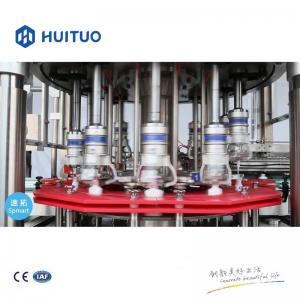Quality Huituo automatic hair care, shampoo, conditioner round bottle capping machine for sale
