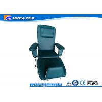Quality Professional Electric Blood Donor Chair / Couch For Hemodialysis With 2 Functions for sale
