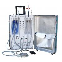 Quality Movable Mobile Dental Chair Build In Scaler And Led Curing Light for sale