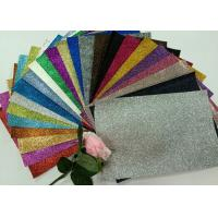 """Quality 1/128"""" Glitter Mixed Colors PU Glitter Fabric PU Cloth Backing For Christmas Box for sale"""