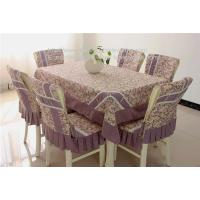 Quality China table linens manufacturer for cheap rosset fabric table linens tablecloths, for sale