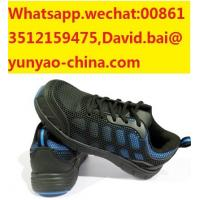 Quality industrial construction working safety shoes with dual density PU outsole low cut for sale