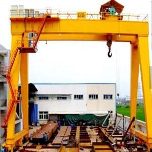 Quality Heavy duty lifting equipment double girder gantry crane 50 ton Heavy Duty Electric Double Girder Gantry Crane for sale