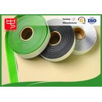 Colour Nylon roll Adhesive Hook and Loop Tape For Household / Plastic PVC
