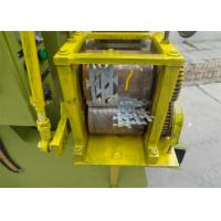Quality 380V 2.2kw Automatic Barbed Wire Making Machine Punching Speed 100 - 120 Times Per Min for sale