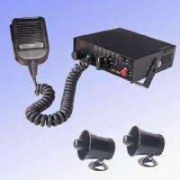 Quality Electronic Car Siren with Double-way Car Speaker for sale